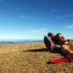 Ich beim Gipfelschlaferl